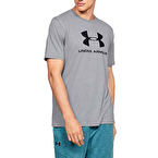 Under Armour Sportstyle Logo T-Shirt Gri