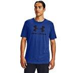 Under Armour Sportstyle Logo T-Shirt Mavi
