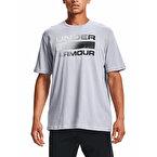 Under Armour Team Issue Wordmark T-Shirt Gri Siyah
