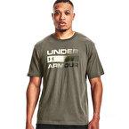 Under Armour Team Issue Wordmark T-Shirt Yeşil