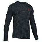 Under Armour Threadborne Seamless Ls Erkek Sweat-Shirt - Koyu Gri