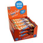 Uniq2go Chocolight Portakal Parçacıklı Protein Midi Bar 40 Gr 16 Adet