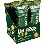 Uniq2go In Love Fıstık Ezmeli Pirinç Proteinli Vegan Bar 32 Gr 12 Adet