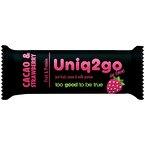 Uniq2go In Love Kakaolu ve Çilekli Protein Bar 32 Gr