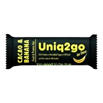 Uniq2go In Love Kakaolu ve Muzlu Protein Bar 32 Gr