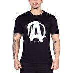 Universal Animal Logo T-Shirt Siyah