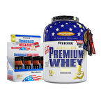 Weider Premium Whey 2300 Gr + Amino Liquid Mega Forte Kombinasyonu
