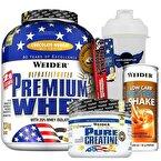 Weider Premium Whey + Pure Creatine + Protein Shake Kombinasyonu