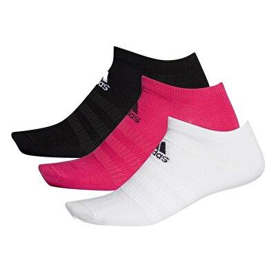 Adidas Light Low 3'lü Çorap Çok Renkli