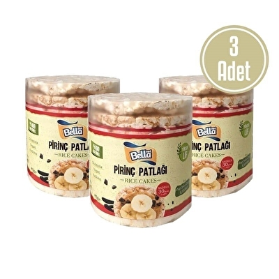 Bellanut Pirinç Patlağı Rice Cakes 85 Gr 3 Adet