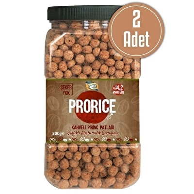 Bellanut Prorice Kahveli Pirinç Patlağı 450 Gr 2 Adet