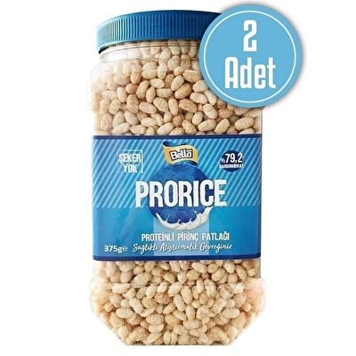 Bellanut Prorice Proteinli Pirinç Patlağı 375 Gr 2 Adet