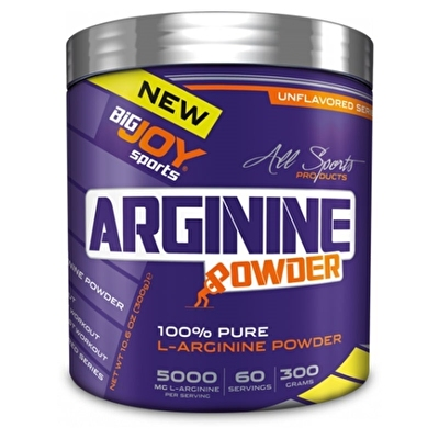 Big Joy 100 % Pure L-Arginine Powder 300 Gr