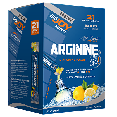 Big Joy Arginine Go! 21 Drink Packets