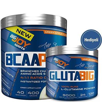 Big Joy BCAA Pro 400 Gr + Big Joy Gluta Big Glutamine 120 Gr Hediyeli