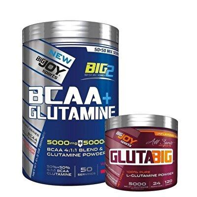 Big Joy Big2 BCAA Glutamine 600 Gr + Crea Big Kreatin 120 Gr Kombinasyonu