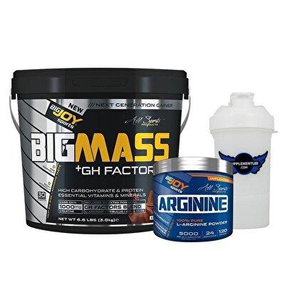 Big Joy Big Mass GH Factors 5000 Gr + Arginine 120 Gr Hediyeli