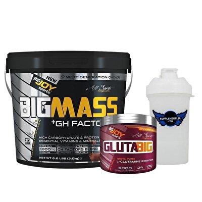 Big Joy Big Mass GH Factors 5000 Gr + Gluta Big 120 Gr Hediyeli