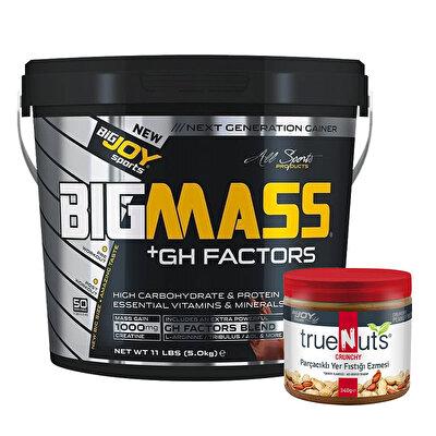 Big Joy Big Mass +GH Factors 5000 Gr + Truenuts Yer Fıstığı Ezmesi Hediyeli