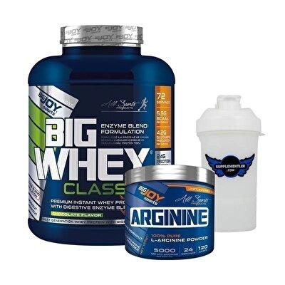 Big Joy Big Whey 2376 Gr + Arginine 120 Gr Hediyeli