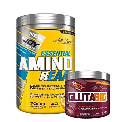 Big Joy Essential Amino Reaal 420 Gr + Gluta Big 120 Gr Kombinasyonu