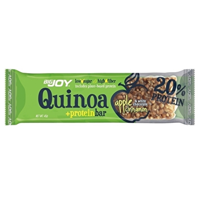 Big Joy Quinoa +Protein Bar 45 Gr