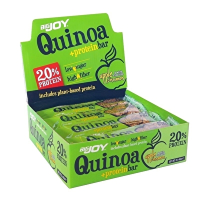 Big Joy Quinoa +Protein Bar 45 Gr 12 Adet