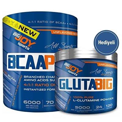 BigJoy Bcaa Pro 420 Gr + Gluta Big Glutamin 120 Gr Hediyeli