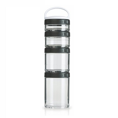 Blender Bottle Go Stak Siyah 350 ml