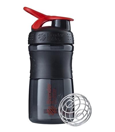 Blender Bottle Sportmixer Siyah Kırmızı 500 Ml