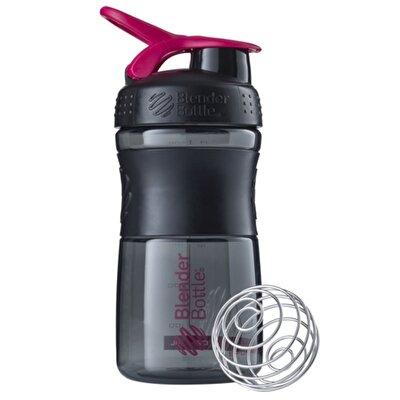 Blender Bottle Sportmixer Siyah Pembe 500 ML