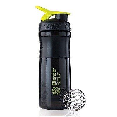Blender Bottle Sportmixer Siyah Yeşil 760 ml