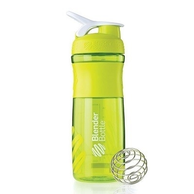 Blender Bottle Sportmixer Yeşil Beyaz 760 ml