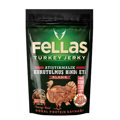 Fellas Turkey Jerky Klasik 40 Gr