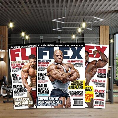Flex Dergisi Geçmiş Dönem Sayı
