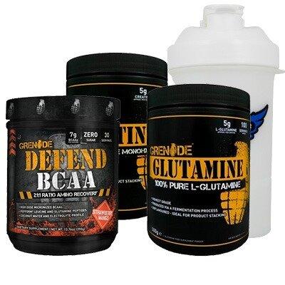 Grenade Defend BCAA + Glutamine + Creatine Kombinasyonu