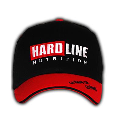 Hardline Amerikan Beyzbol Şapka Siyah-Kırmızı