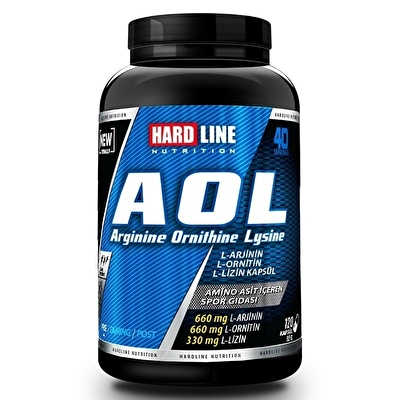 Hardline Aol 120 Kapsül