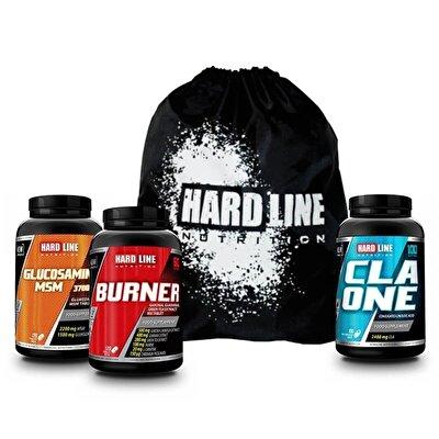 Hardline  CLA One 1000 Mg + Glucosamine Msm + Burner Kombinasyonu