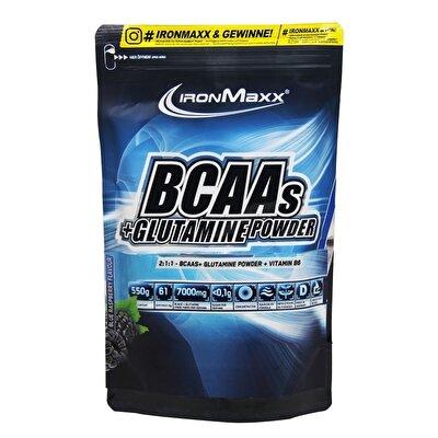 IronMaxx BCAAs+Glutamine Powder 550 Gr