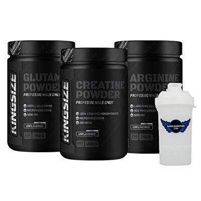 Kingsize Nutrition Creatine + Arginine + Glutamine Kombinasyonu