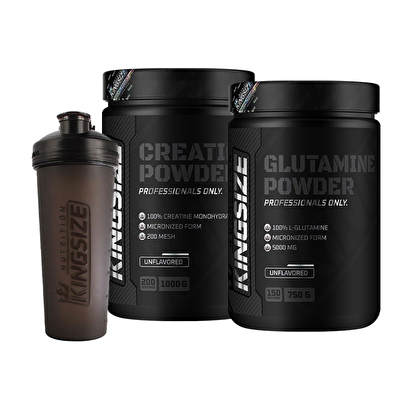 Kingsize Nutrition Creatine + Glutamine Kombinasyonu