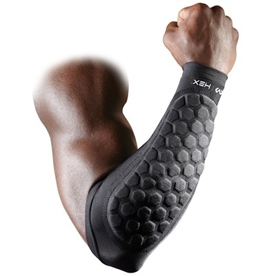 MC David Hex Pad Forearm Pad Siyah