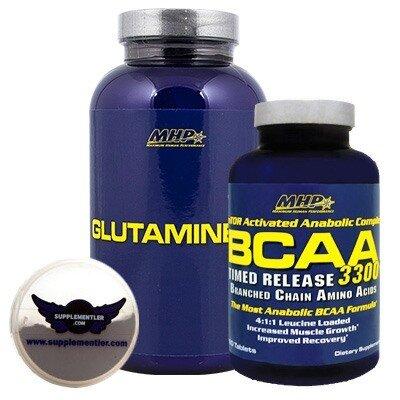 MHP Glutamine 300 Gr + MHP BCAA 3300 Kampanyası
