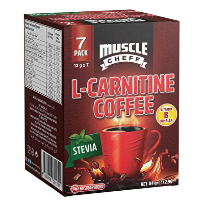 Muscle Cheff L-Carnitine Kahve 12 Gr 7 Saşe