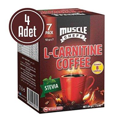 Muscle Cheff L-Carnitine Kahve 12 Gr 7 Saşe x 4 Kutu
