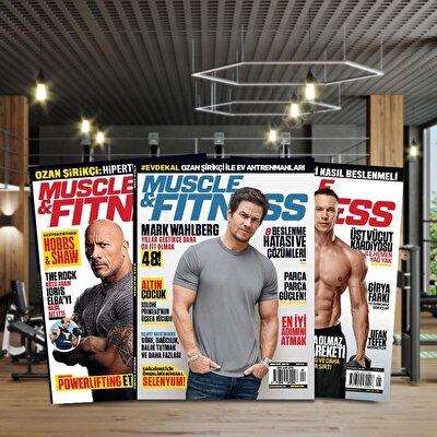 Muscle & Fitness Dergisi Geçmiş Dönem Sayı