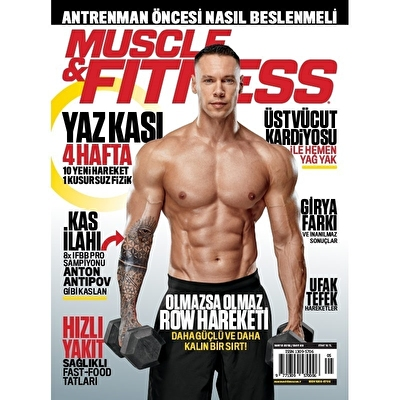 Muscle & Fitness Mayıs 2018 Sayısı