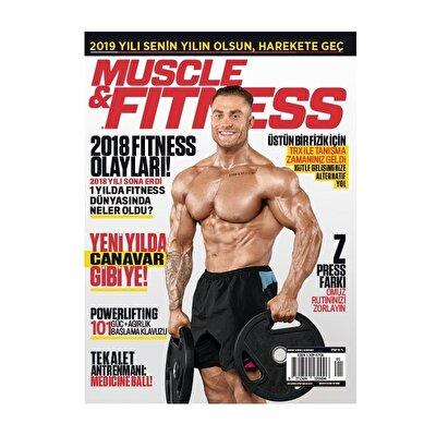 Muscle & Fitness Ocak 2019 Sayısı