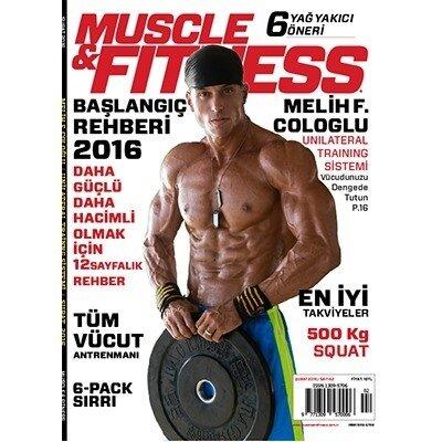 Muscle & Fitness Şubat 2016 Sayısı